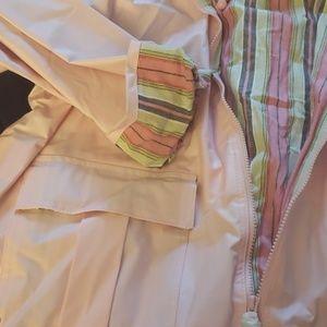 MTC Jackets & Coats - Pink Thermal Slicks by I de MTC Raincoat